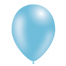 "Light Blue 5 inch Balloons - Decotex 5"" Balloons 100pcs"